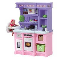 Step2 Little Bakers Kids Play Kitchen w/30 Piece Accessory Play Set Deals