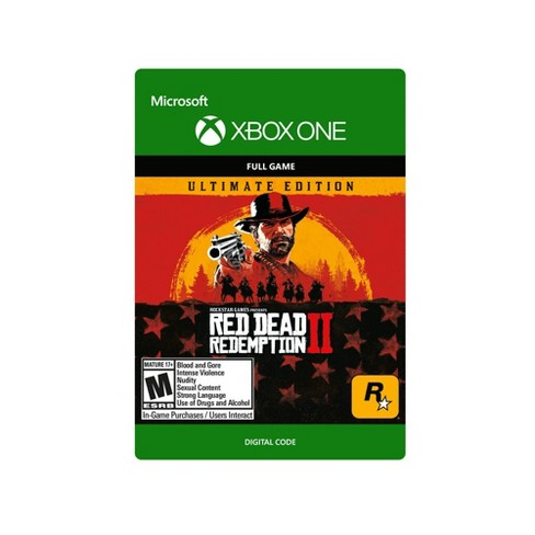 Red Dead Redemption 2: Ultimate Edition - Xbox One (Digital) - image 1 of 4