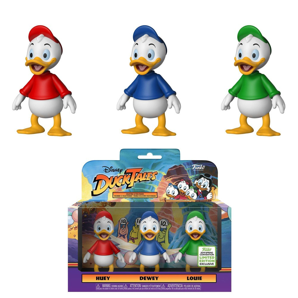 Image of Funko Action Figure: 2019 ECCC Disney Afternoon 3pk - Huey, Dewey, & Louie (Target Exclusive)