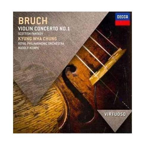 Kyung Wha Chung - Virtuoso: Bruch- Violin Concerto No.1/Scottish Fantasy (CD) - image 1 of 1