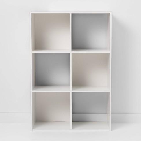 "11"" 6-Cube Organizer Shelf - Room Essentials™ - image 1 of 4"