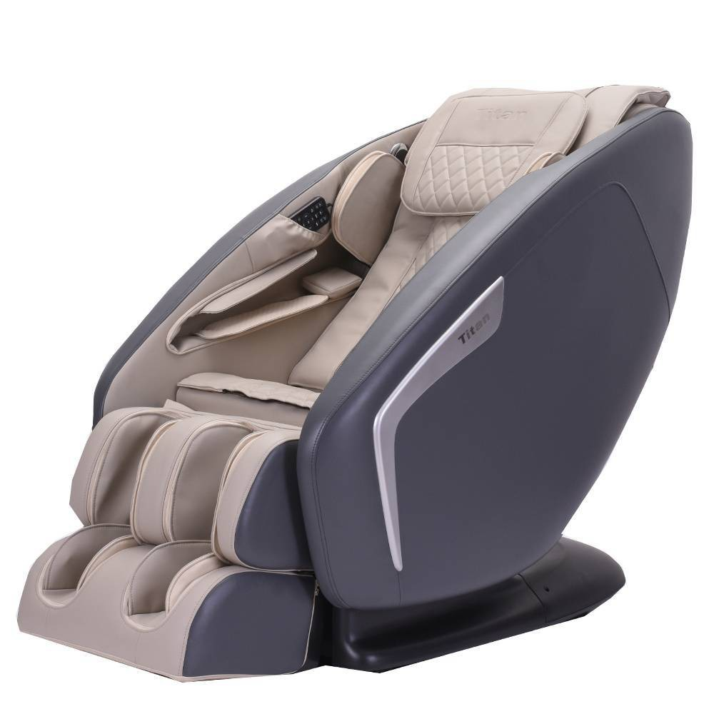 Image of Titan 3D Pro Ace Massage Chair Taupe - Titan