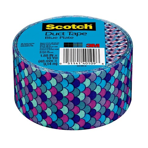 Scotch® Expressions Tape-5.4yd - Blue Chevron - image 1 of 2