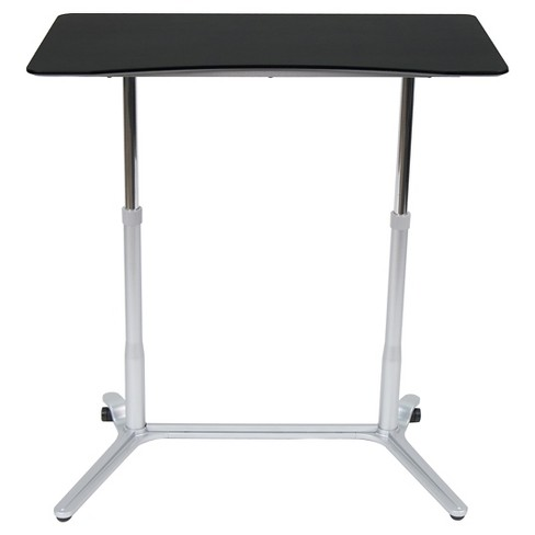 Sierra Adjustable Height Desk Use While Sitting Or Standing