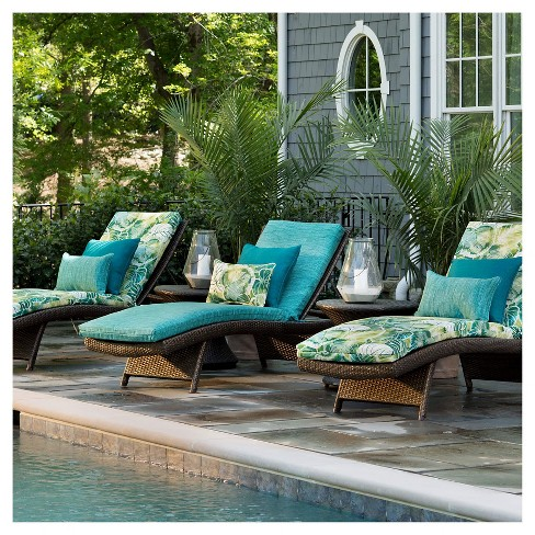 Pillow Perfect Outdoor One Piece Seat And Back Cushion Target