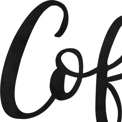 Coffee Bar Script Wall Sign - Stratton Home Décor