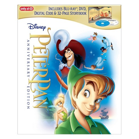 peter pan signature collection target exclusive blu ray dvd