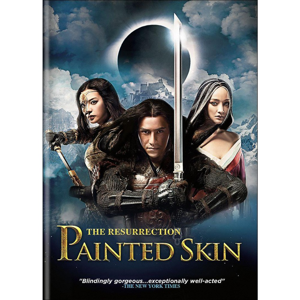 Painted Skin The Resurrection Dvd