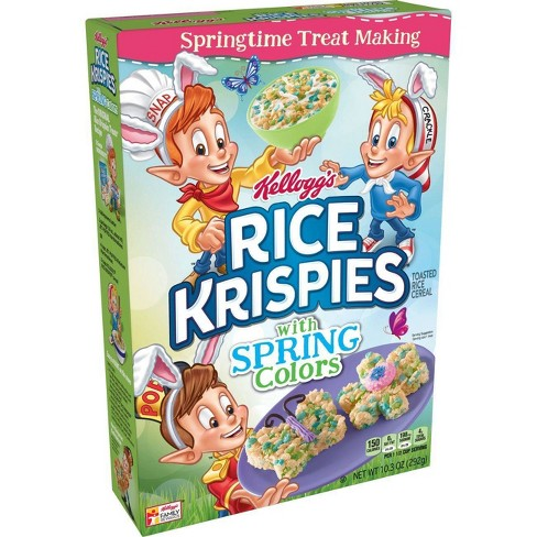 Rice Krispies Spring Breakfast Cereal 10.3 oz - Kellogg's - image 1 of 4