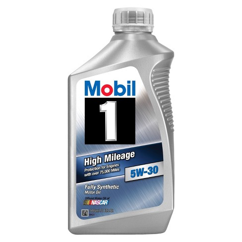 Mobil 1 High Mileage Motor Oil 5W-30 1 Quart - image 1 of 1
