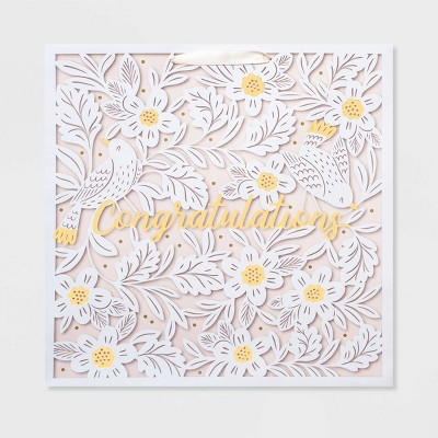 "Large Square ""Congratulations"" Gift Bag - Spritz™"