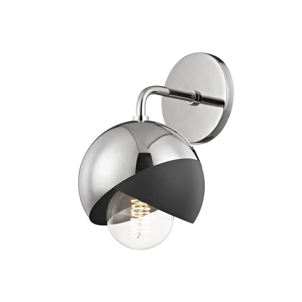 Emma 1-Light Wall Sconce Brushed Nickel - Mitzi by Hudson Valley Price