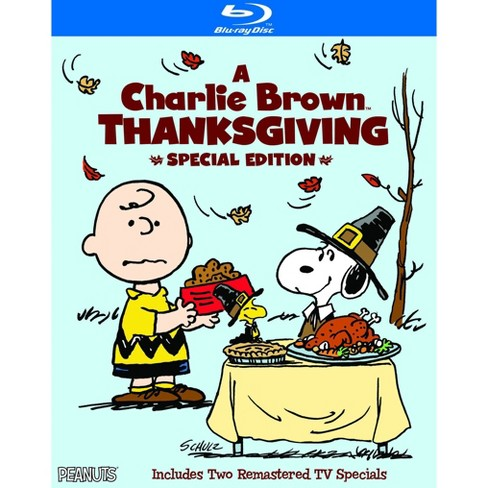 A Charlie Brown Thanksgiving: Special Edition (Blu-ray) - image 1 of 1