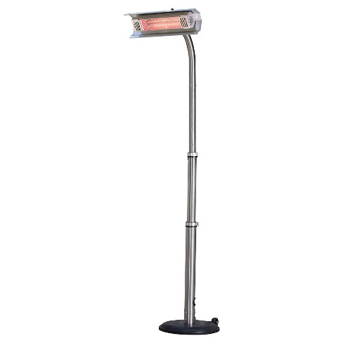 Fire Sense Stainless Steel Telescoping Offset Pole Mounted Infrared Patio Heater - image 1 of 3