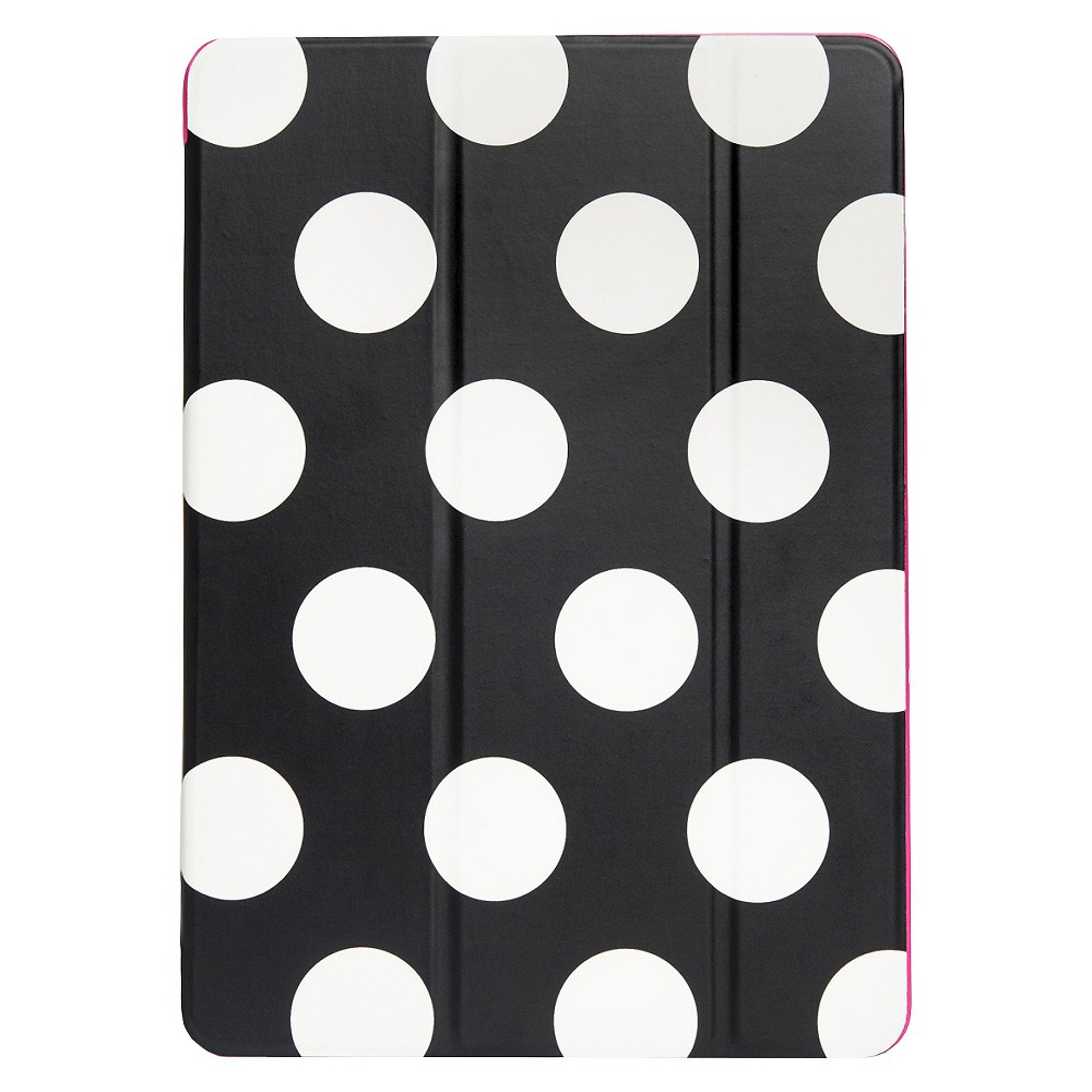 Agent18 iPad Air 2 Flipshield - Black/White Dots/Pink