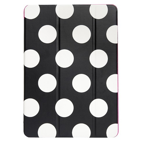 Agent18 iPad Air 2 Flipshield - Black/White Dots/Pink - image 1 of 4