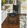 """24"""" Ellie Big & Tall Counter Stool Black - Powell Company - image 2 of 3"""