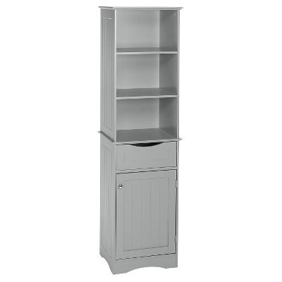 Ashland Collection - Tall Cabinet - Gray - RiverRidge®