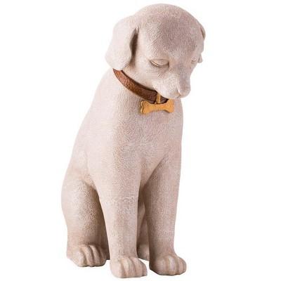 Wind & Weather Dog Memorial Statue For Indoor Or Outdoor Display