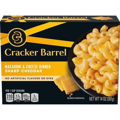Cracker Barrel Sharp Cheddar Macaroni & Cheese Dinner - 14oz