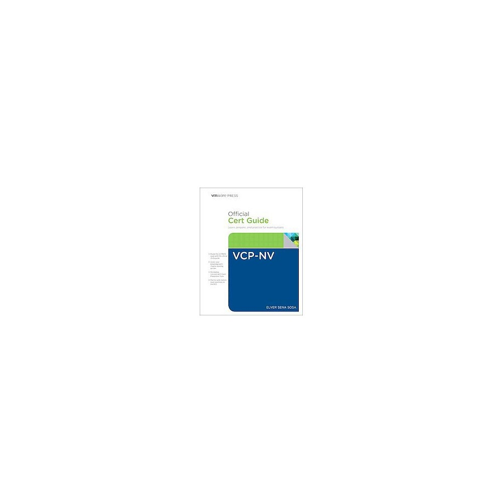 Vcp6-nv Official Cert Guide : Exam #2v0-641. Learn, Prepare, and Practice for Exam Success (Hardcover)