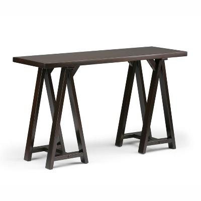 "50"" Hawkins Solid Wood Console Sofa Table - Wyndenhall"