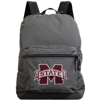 NCAA Mississippi State Bulldogs Gray Premium Backpack