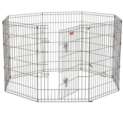 Lucky Dog Modular Pet Indoor Outdoor Portable Exercise Puppy Play Pen, 36 Inches - image 1 of 6