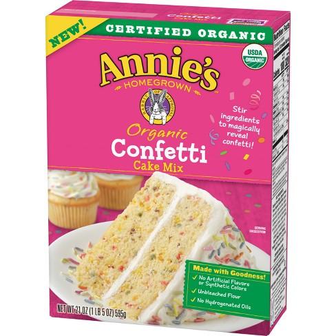 Annie's Organic Confetti Cake Mix - 21oz - image 1 of 3