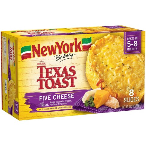 New York Bakery Frozen Five Cheese Texas Toast - 13.5oz - image 1 of 3