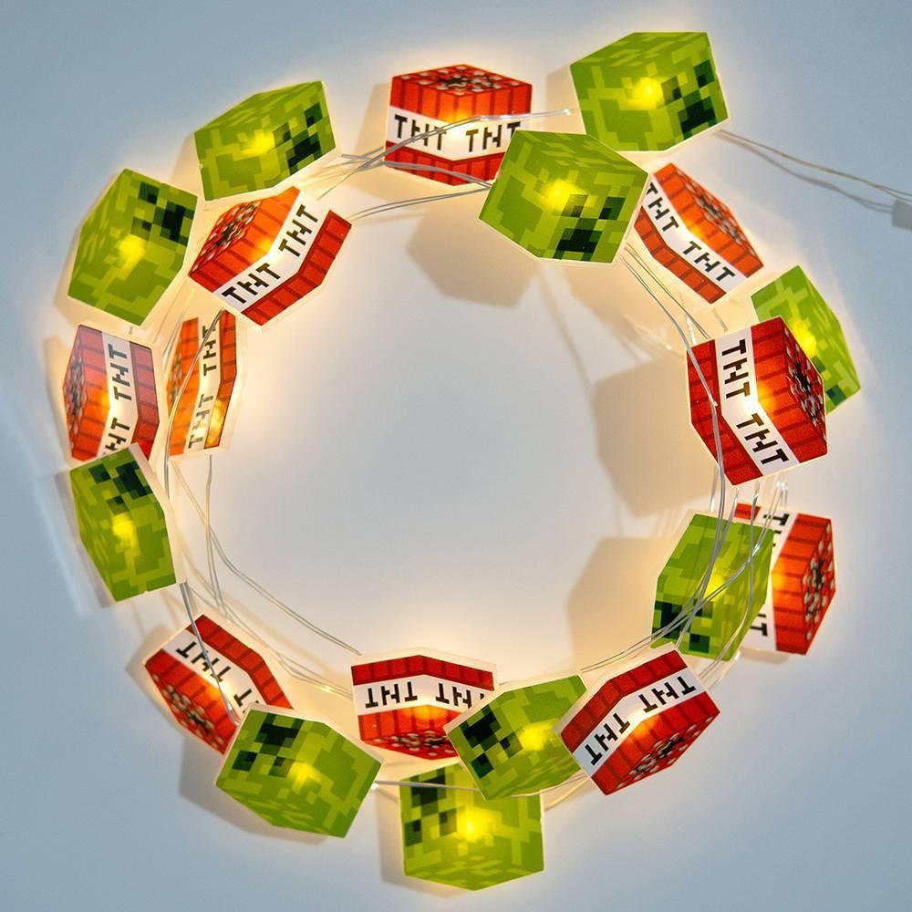 Image of Minecraft Creeper String Light