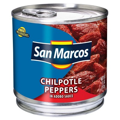 San Marcos Chipotle Peppers - 11oz