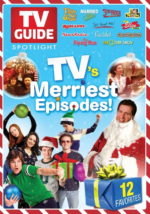 TV Guide Spotlight: TV's Merriest Episodes! (dvd_video) - image 1 of 1