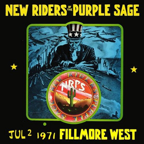 New riders of the pu - Jul 2 1971 fillmore west (CD) - image 1 of 1