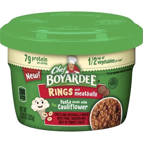 Chef Boyardee Cauliflower Pasta Rings with Meatballs - 7.25oz - image 1 of 1