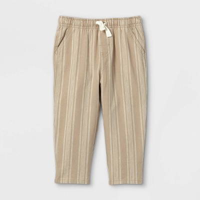 Toddler Boys' Broadcloth Pull-On Chino Pants - Cat & Jack™