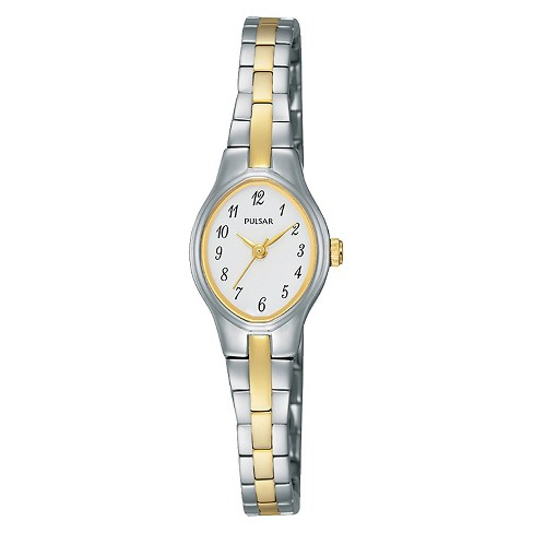 Women's Pulsar Basic Dress Watch - Two Tone with White Dial - PC3281 - image 1 of 1