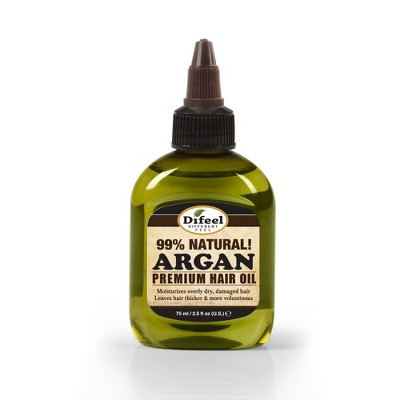 Difeel Premium Natural Argan Hair Oil - 2.5 fl oz