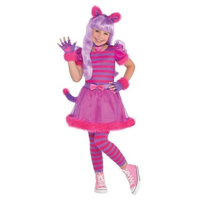 Kids' Cheshire Cat Girl Halloween Costume