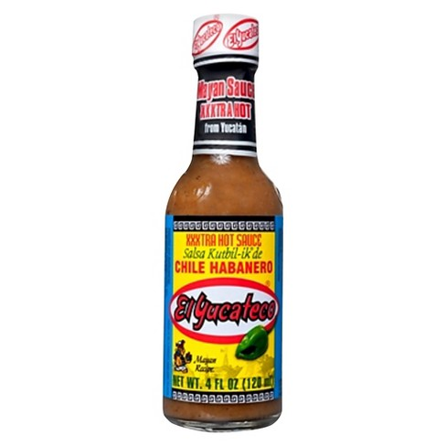 El Yucateco® Extra Hot Chile Habanero Sauce 4 oz - image 1 of 1