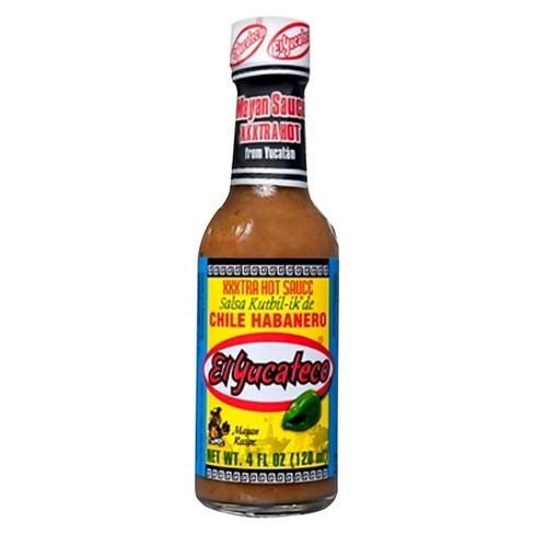 El Yucateco Extra Hot Chile Habanero Sauce - 4oz - image 1 of 1