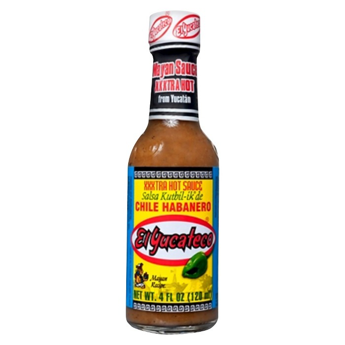 El Yucateco® Extra Hot Chile Habanero Sauce 4 oz - image 1 of 1