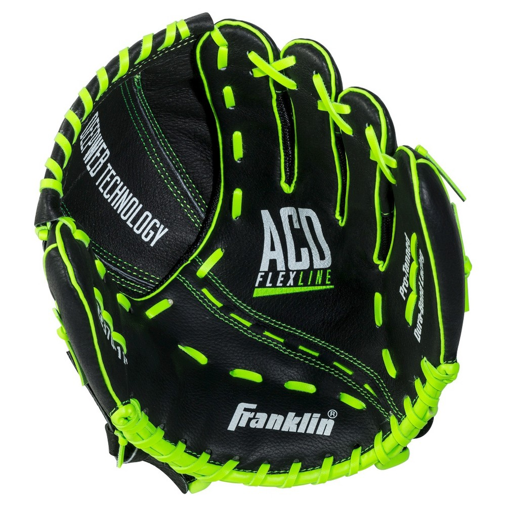 Franklin Sports 11 Acd Flexline Baseball Glove-Right Handed Thrower, Black