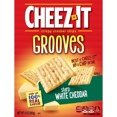 Crackers: Cheez-It Grooves