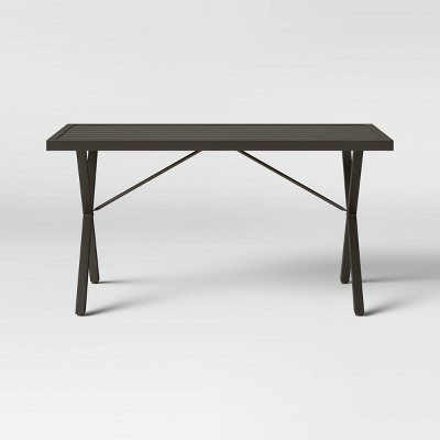 Monroe Rectangle Patio Dining Table - Brown - Threshold™