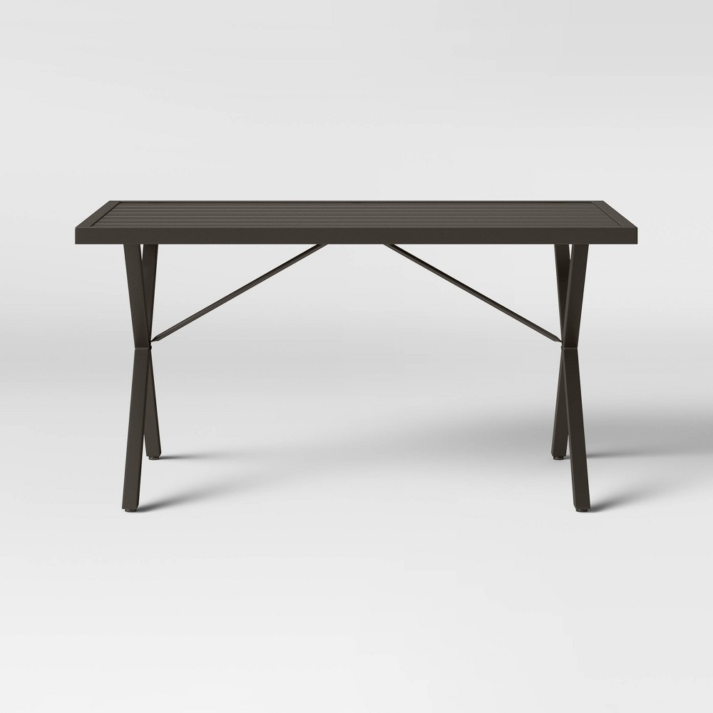 Monroe Patio Dining Table - Brown - Threshold was $300.0 now $150.0 (50.0% off)