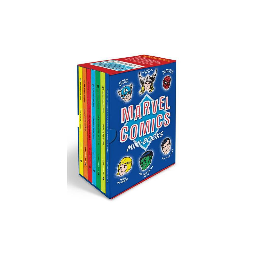 Marvel Comics Mini Books Collectible Boxed Set By Marvel Entertainment Hardcover