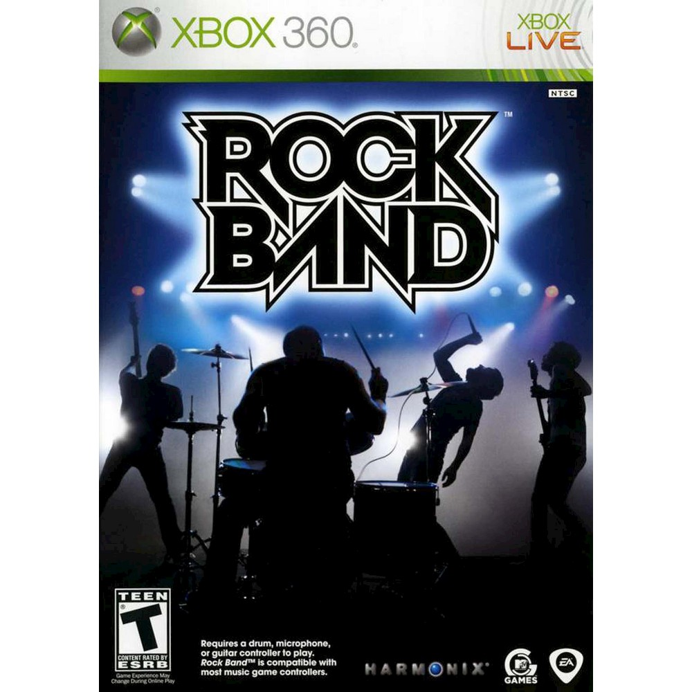 Rock Band Pre-Owned Xbox 360