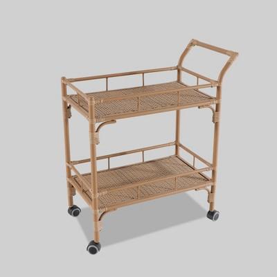 Britanna Patio Bar Cart Natural - Opalhouse™