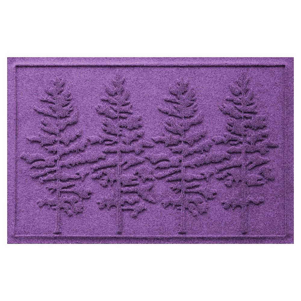 Purple Solid Doormat - (2'X3') - Bungalow Flooring